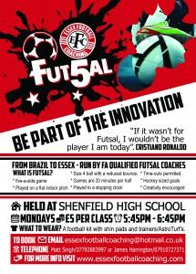 Futsal Flyer A5