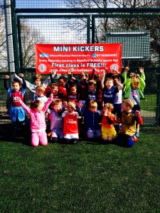 Mini Kickers Easter 2016 Camp