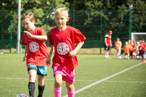 Two older players - summer camp 2016